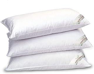 Klosterdorf Bettenmanufaktur Premium oreiller à trois compartiments ''funktionell'' | 40x80 cm | 500 grammes | Travail art...