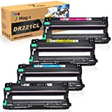 7Magic Remanufactured Drum Unit Replacement for Brother DR221CL DR-221CL DR221 Drum Set Uses in Brother HL-3140CW HL-3170CDW HL-3180CDW MFC-9130CW MFC-9330CDW MFC-9340CDW Printers 4-Pack