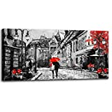 Home art size: 20x40inchx1pcs (50x100cmx1pcs). Premium Quality:High definition giclee picture printed on high qulity canvas,and gallery wrapped when get it. High quality canvas stretched over a real wooden frame. Metal hanging hook is already attache...