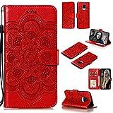 ZAORUN Étui de protection pour téléphone portable Xiaomi Redmi Note 9 Pro Max Mandala en relief...