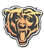 iron on company logo - NFL Chicago Bear Head Logo EMBROIDERED PATCH Badge Iron-on, Sew On - Shipped From USA