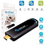 EZCast 2.4G WiFi Display Adapter 1080P HDMI Media Streaming TV Stick Support EZCast App, Airplay, DLNA, MiraCast, EZMirror, and YouTube