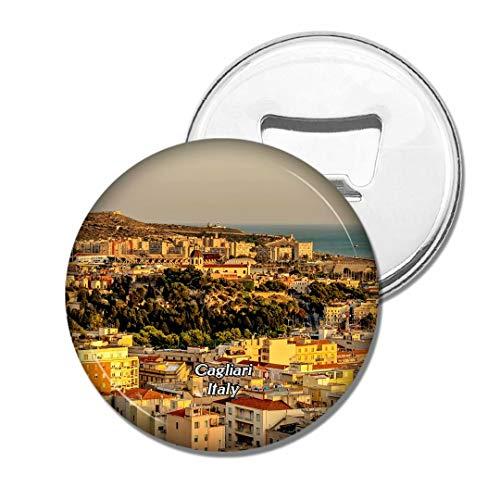 Weekino Stadt Italiens Cagliari Sardinien Bier Flaschenöffner Kühlschrank Magnet Metall Souvenir Reise Gift