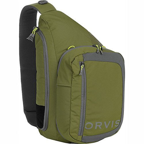Orvis Safe Passage Guide 22L Sling Pack Olive Grey, One Size