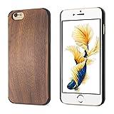 BELK Artisan Master Series - Carcasa para iPhone 6 Plus/iPhone 6S Plus (5,5 pulgadas), madera dura y policarbonato híbrido, madera dura, carcasa fina de madera para Apple iPhone 6 Plus y iPhone 6S Plus (5,5 pulgadas), color cedro