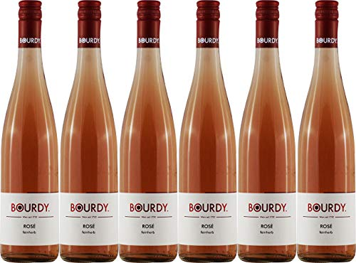 Bourdy Rosé 2019 Feinherb (6 x 0.75 l)
