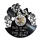 Beauty and The Beast Clock, Gift Decor
