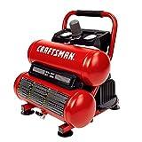 Craftsman Air Compressor, 2 Gallon Portable Air Compressor, Twin Tank, 1/3 HP Oil-Free Max 125 PSI Pressure, Model: CMXECXA0220242