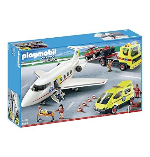 Playmobil® 5059 Bergrettung Mega-Set (Flugzeug, Van, Abschlepp-Truck)