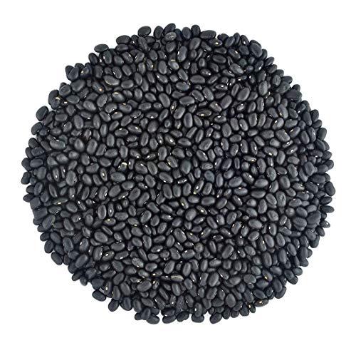 Organic Black Turtle Beans- Fiber & Protein rich, Raw, Non-GMO, Vegan Bulk-10LB
