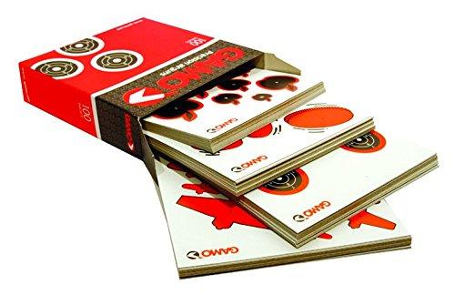 Gamo 6212136 Caja con 100 Dianas Variadas, Hombre, Negro,