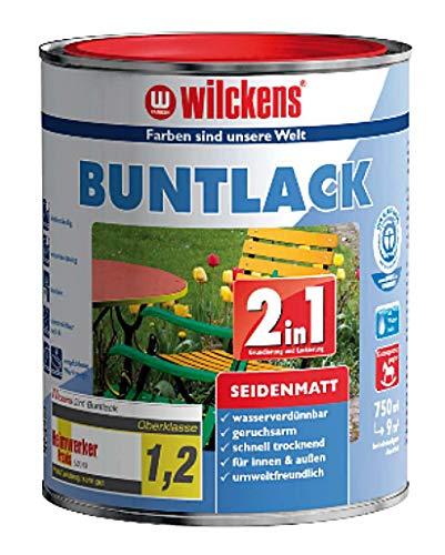 Wilckens 2in1 Buntlack seidenmatt, RAL 9001 cremeweiß, 750 ml 12490100050
