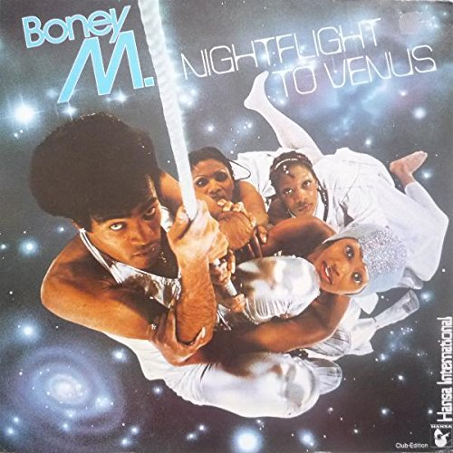 Boney M. - Nightflight To Venus - Hansa International - 34 009 1, Bertelsmann Club - 34 009