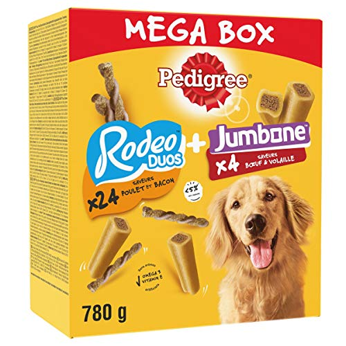 PEDIGREE Méga Box - Mix de Récompenses pour chien...