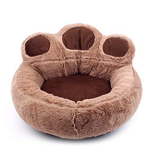 PETCUTE Cama para Perros pequeños medianos Cama para Gatos cómoda Lavable Camas para Mascota Invierno