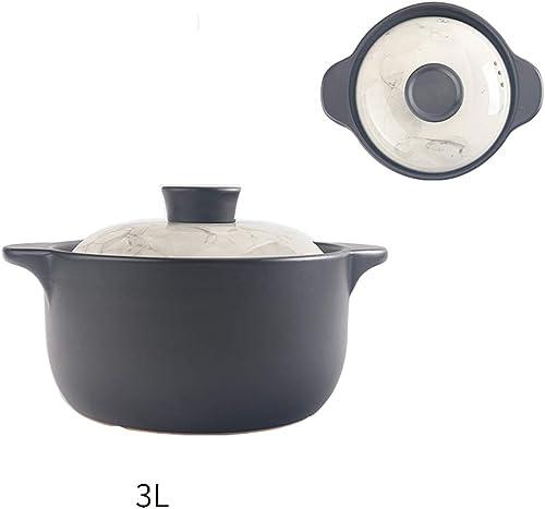 Garantía 100% de ajuste ZN-pot Cazuela Estofado Olla Hogar Ming Fuego Fuego Fuego Gas Ceramica Cazuela de Sopa Resistente al Calor Gran Capacidad Olla de Sopa (Disponible en una Variedad de tamaños)  compra limitada