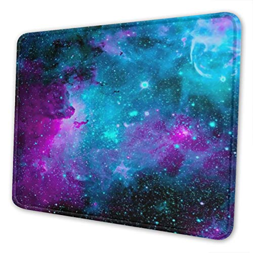 Mouse Pad Galaxy Gaming Mousepad with Stitched Edges Non-Slip Rubber Base for Computers Laptop Office & Home