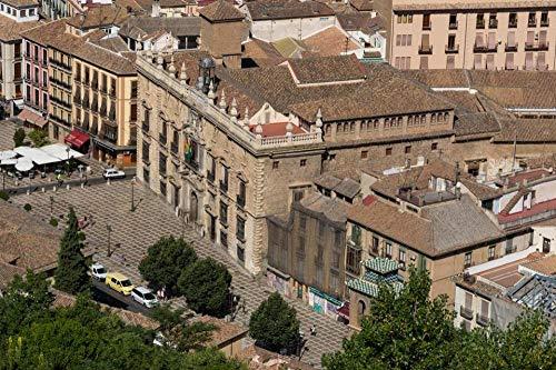 Rompecabezas de 1000 piezas Ayuntamiento de Granada - Hermosa ciudad d