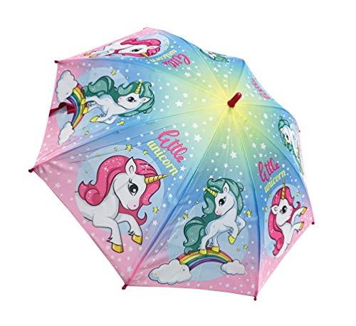 Paraguas Unicornio 48 cms Poliester, automático