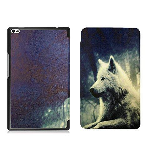 Oujietong Case for Lenovo Tab4 Tab 4 8 8' Case Shell Tablet Cover Lang