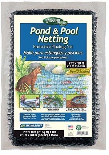 Gardeneer By Dalen PN-10 Pond & Pool Netting Protective Floating Net 7' x 10'