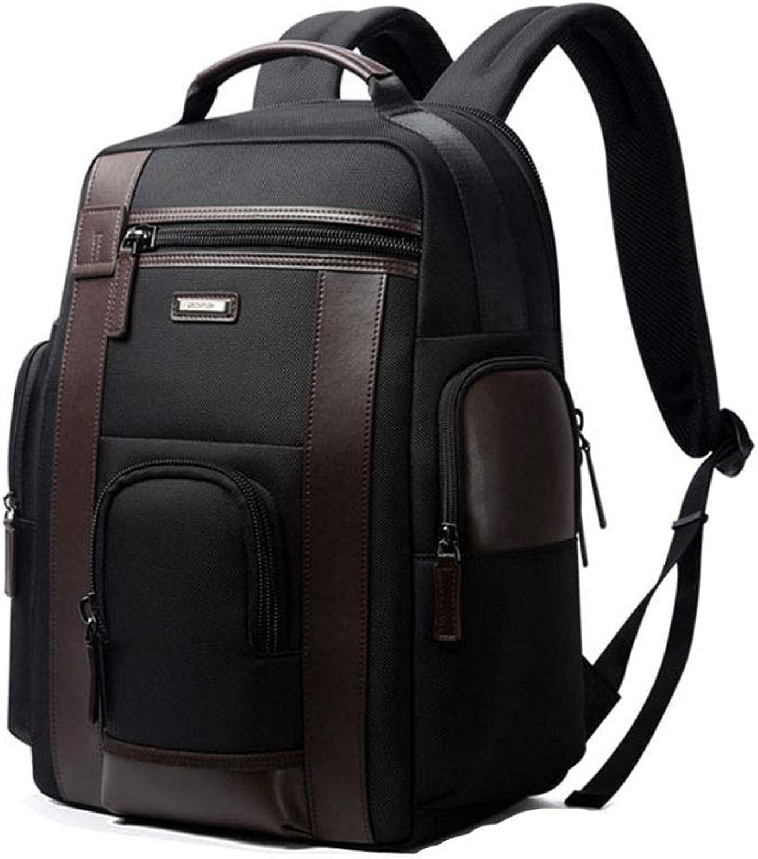 Business-Laptop-Rucksack, 17-Zoll-Wasserdicht Mit USB-Lade Stilvolle Reise Student Rucksack, Anti-Theft-Rucksack, Schwarz