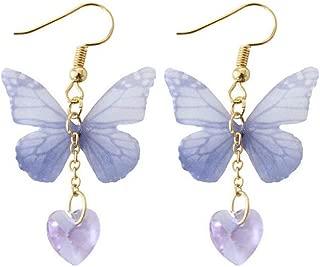 Fashion Unique Jewelry Elegant Butterfly Dangle Earrings