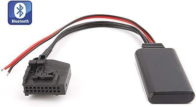 Shine - Adaptador Bluetooth para Coche para Mercedes Benz Comand 2.0 W211 W209 W168 W208 W163 W202 W203, Interfaz de música AUX estéreo de Coche inalámbrico para MB A C E M CLK CL SL SLK Class