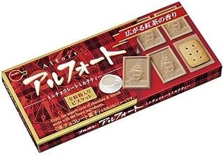 (Pack of 5) Bourbon Alfort Milk Tea Flavor Chocolate 55g