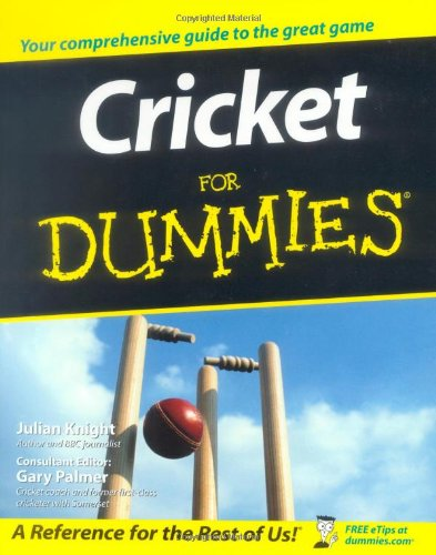 Cricket For Dummies (For Dummies (Lifestyles Paperback))