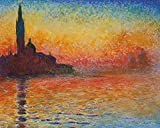 1art1 Claude Monet - Abendstimmung In Venedig, 1908 Poster
