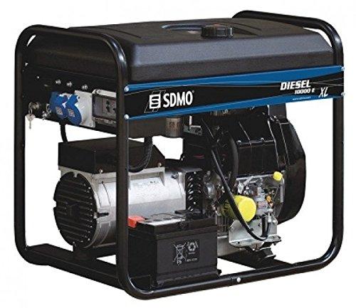 SDMO GENERADOR Modelo Diesel 10000 E XL C   Gama Diesel Arranque ELECTRICO   AUTONOMIA Aumentada Motor KHOLER Potencia MAX 9000 W