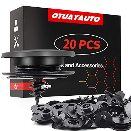 OTUAYAUTO 20PCS Car Floor Mat Clips - Universal...