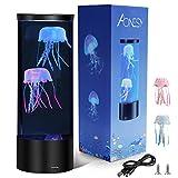 Lámpara de medusas Lámparas de lava AONESY Lámpara de cambio de color Lámpara de humor de...