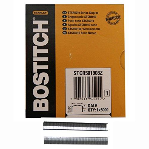 Bostitch Klammer 8mm für Hammertacker Hand Tacker H30-8D6   5000 Stk.