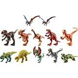 Jurassic World Attack Pack Dinosaur Action Figure with 5 Articulation Points, Realistic Sculpting & Texture, Great Gift for Ages 4 Years Old & Up