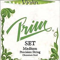 Prim 4/4バイオリン弦セット - ボールエンドE付きミディアムゲージ