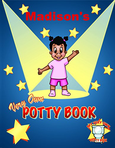Personalized African American Potty Training Book | Personalized Children's Books | First Time Books