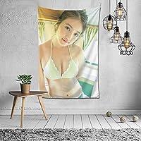 今田美桜タレント写真集 タペストリー インテリア 壁掛け おしゃれ 室内装飾 多機能 寝室 カーテン おしゃれ 個性ギフト 新築祝い 結婚祝い プレゼント ウォール アート(60in*40in)