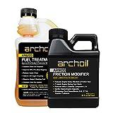 Archoil Performance Kit P-1 for All Vehicles - 16oz AR9100 Friction Modifier + 16oz AR6200 Fuel Treatment