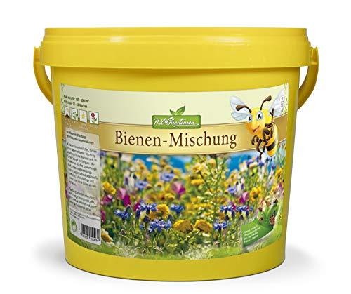 N.L.Chrestensen BIG Eimer - Ein Paradies für alle Insekten, Bienenweide, Bienenfreundliche Mischung Blumensaatgut, Mehrfarbig