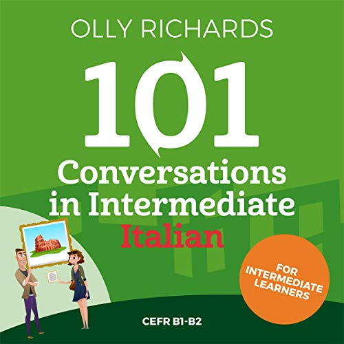 101 Conversations in Intermediate Italian cover art