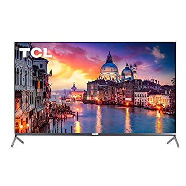 TCL 65 Class 6-Series 4K UHD QLED Dolby Vision HDR Roku Smart TV 65R625