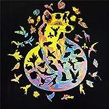 LSEEKA Rompecabezas de Madera - Rompecabezas de Formas únicas para Adultos y niños, Rompecabezas de Animales para Adultos, lo Mejor para la colección de Juegos Familiares(Zorro,156PCS