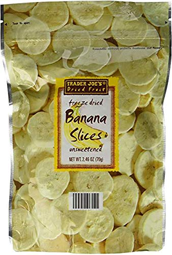 Trader Joe's Freeze Dried Banana Slices Pack Sales of National uniform free shipping SALE items from new works 6 oz 2.46
