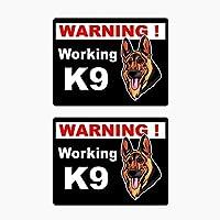BJRHFN 10.2CMは仕事に最も近い車のテールを警告7.8CM車のステッカーをxはK9 (Color : 1)