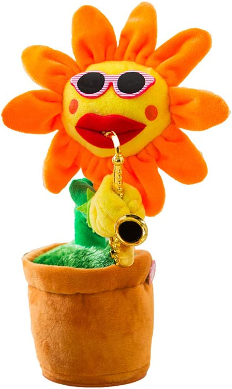 autorización oficial FLYSXP FLYSXP FLYSXP Sun Flor Girasol Felpa Vibrato Juguete rojo Rojo con El Mismo Párrafo Cantará Y Bailará Regalo De Los Niños Juguetes educativos para Niños (Color   B)  venta caliente