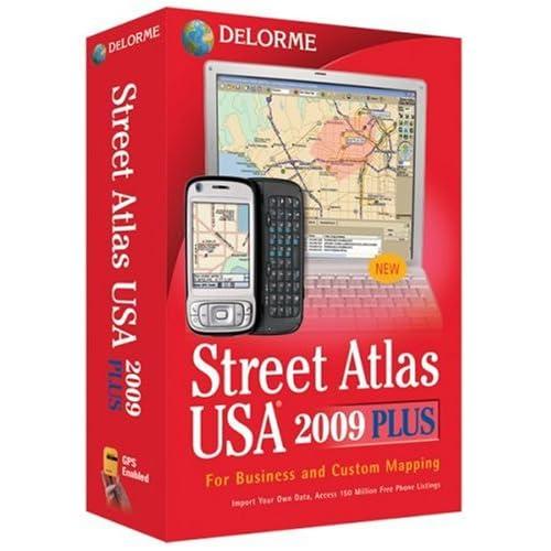 Delorme Street Atlas: Amazon com