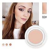 Allbesta Concealer Foundation Puder Cream Natural Camouflage Make-up Cover Blemish