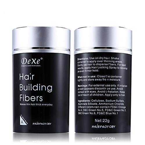 Dexe Hair Building Fibers,Miyshow Hair Thickening Fibers with Natural...